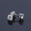 Eternal Moissanite 1CTW Stud Earrings - Screw Post - Sterling Silver