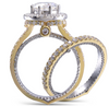 The Athena Ring Series - Eternal Moissanite 3CT Center Round Brilliant Cut Engagement Ring - VIDEO BELOW