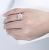 The Paisley Ring Series - Eternal Moissanite 2.10CT Cushion Cut Center Engagement Ring Set!  VIDEO BELOW!