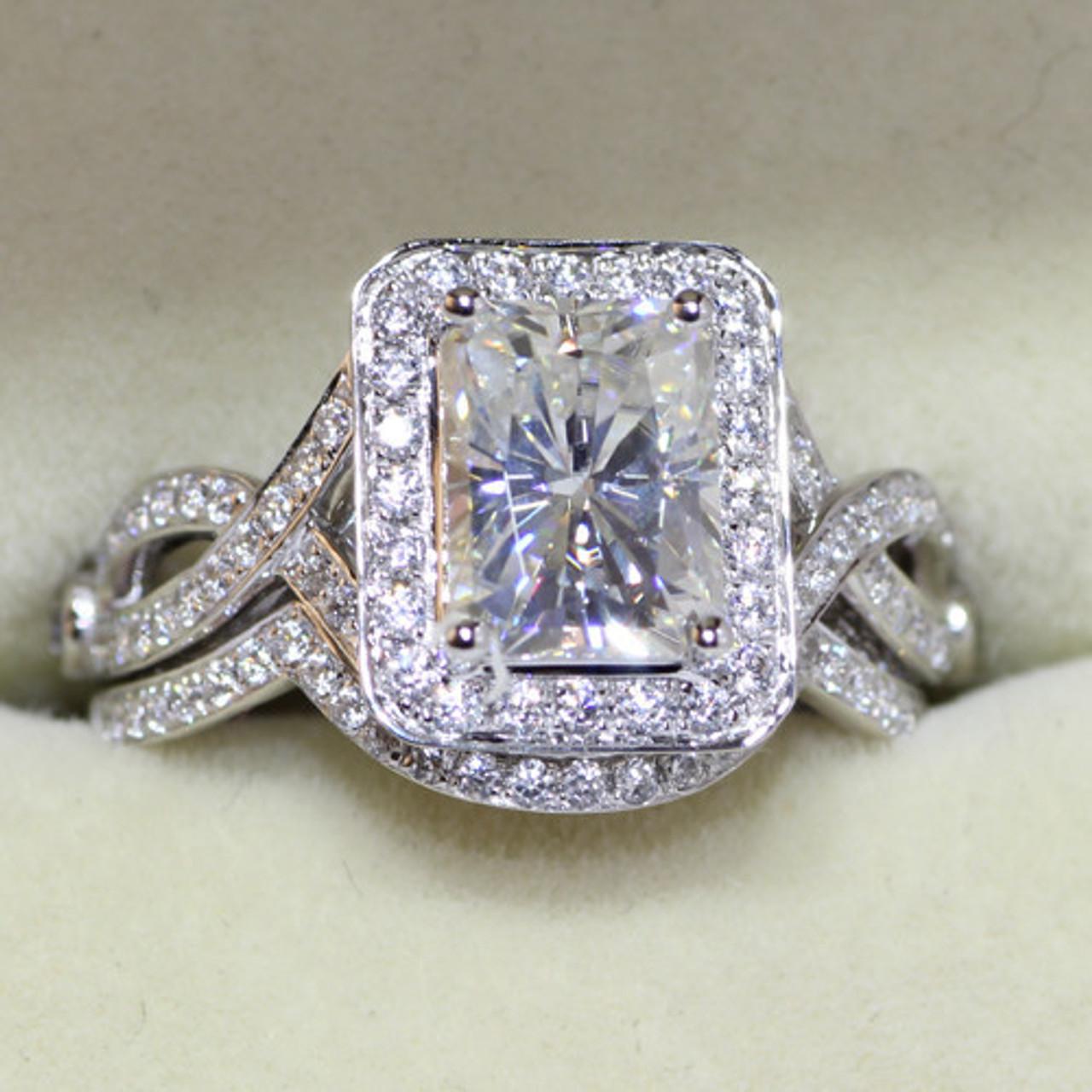 Eternal Moissanite Engagement Rings
