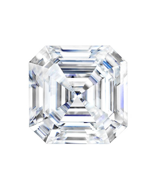 Forever One Loose Asscher Cut Moissanite