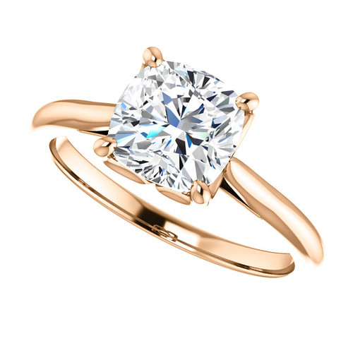 The Annabelle Ring Series  - NEO Moissanite  1.70CT Cushion Cut Engagement Ring