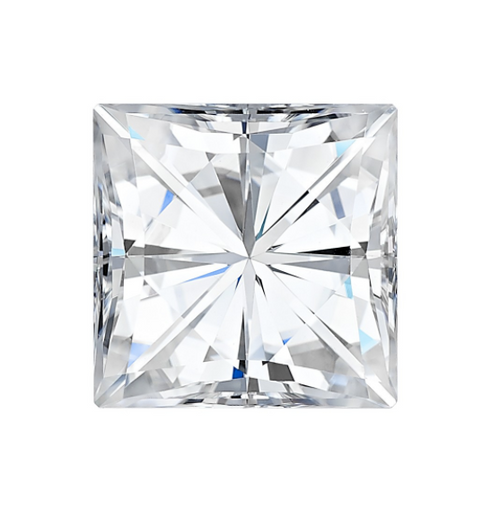 Forever One Square Moissanite