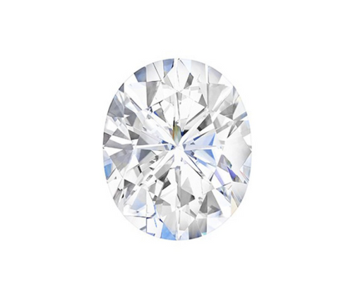 Charles & Colvard Forever One Oval Cut Colorless Loose Moissanite