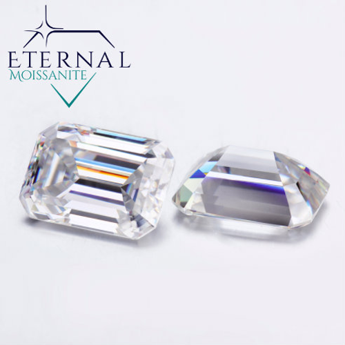 EMERALD CUT - Eternal® Moissanite Loose GEM -  VIDEO BELOW!  BEST PRICE ON THE NET!