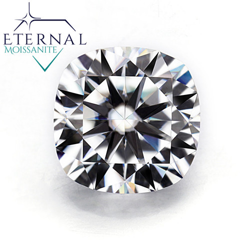 CUSHION CUT  Eternal® Moissanite Loose Gem - VIDEO BELOW!  Best Price On The NET!