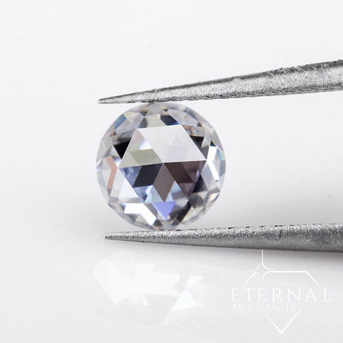 Eternal® Moissanite Full Rose Cut Loose Stone - EF Color
