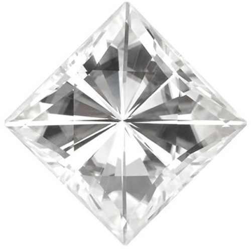 NEO Moissanite Loose Princess / Square Cut Stone G-H