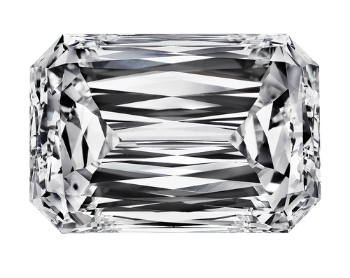 "Eternal® Moissanite Zelda Cut ""Emerald Cut Hybrid"" - EF COLOR -- VIDEO BELOW!"