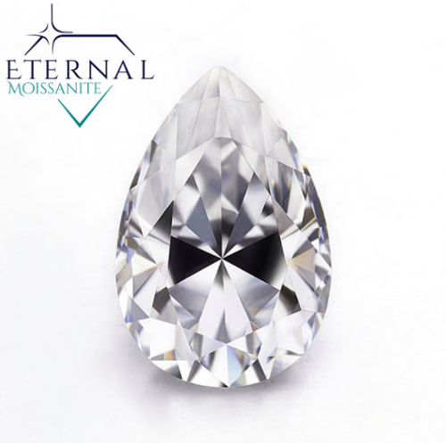 Pear Shape Loose Gem - Eternal® Moissanite - EF Color - VIDEO BELOW