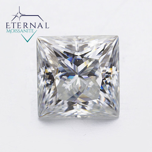 Eternal® Moissanite Princess Cut Loose Stone - GH Color