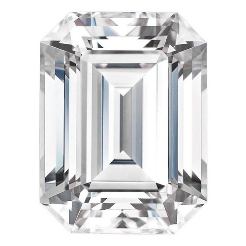 Forever One Emerald Cut Moissanite