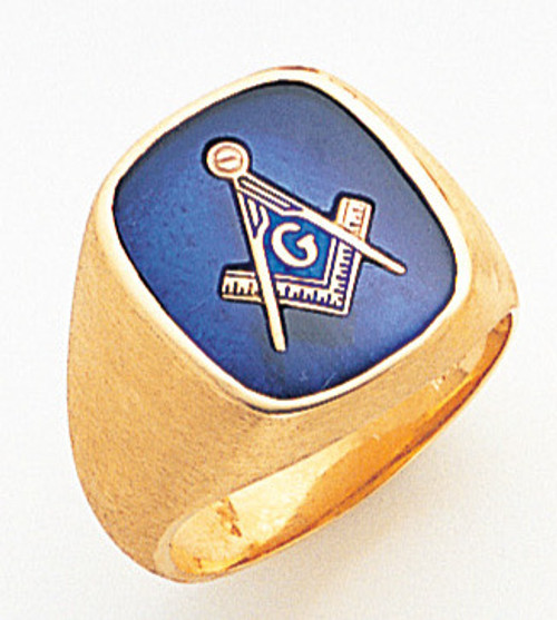 Men's Master Mason Ring (Solid Back)!!!