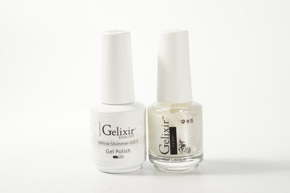 Gelixir #037 - White Shimmer