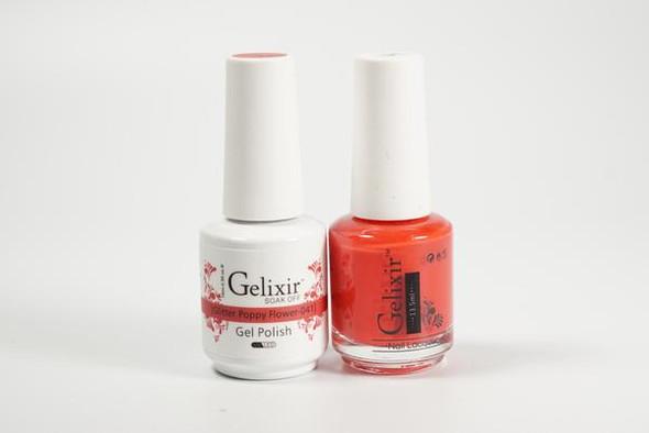 Gelixir #041 - Glitter Poppy Flower
