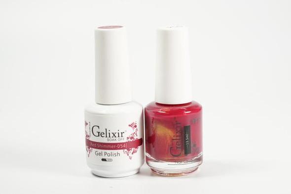 Gelixir #054 - Red Shimmer