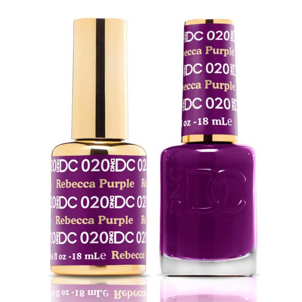 DND DC #020 - Rebecca Purple
