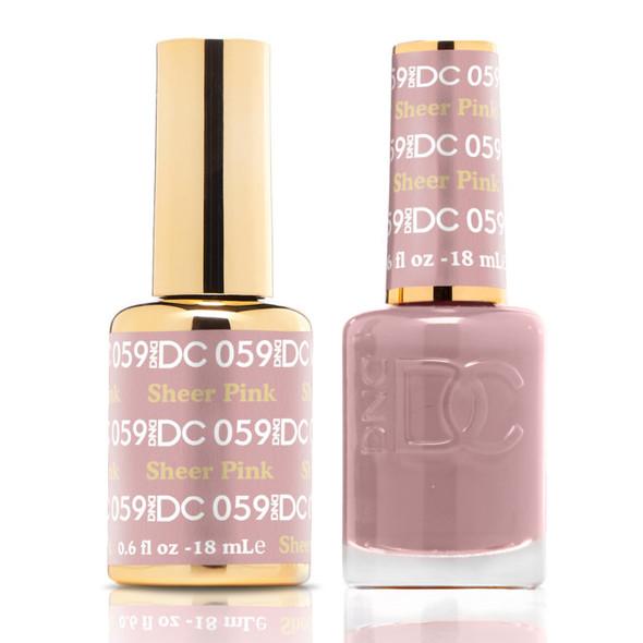 DND DC #059 - Sheer Pink