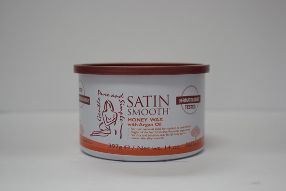 Satin Smooth - Honey Wax w/ Argan Oil