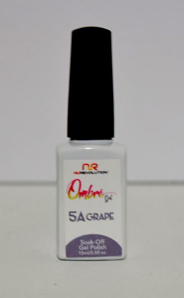 NuRevolution Ombre Gel - 5A Grape