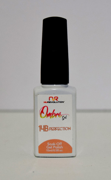 NuRevolution Ombre Gel - 14B Perfection