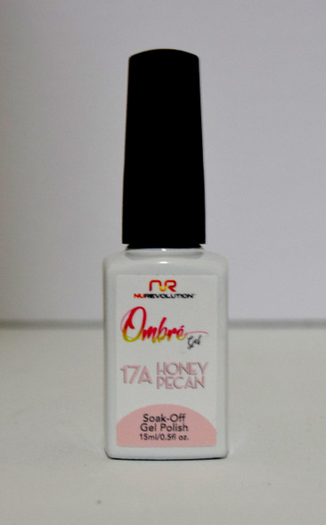 NuRevolution Ombre Gel - 17A Honey Pecan