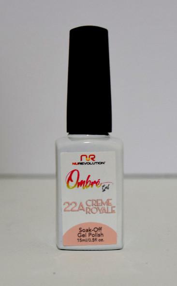NuRevolution Ombre Gel - 22A Crème Royale
