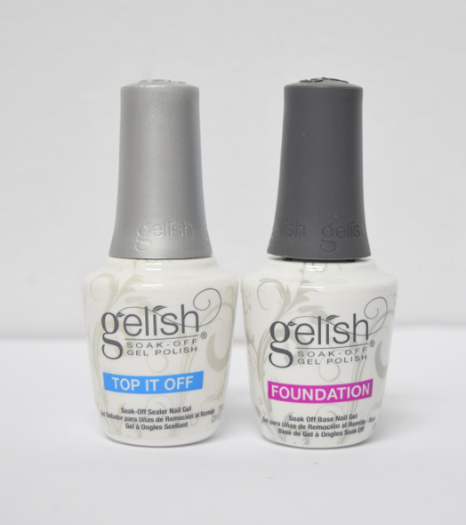 Gelish Foundation & Top Duo