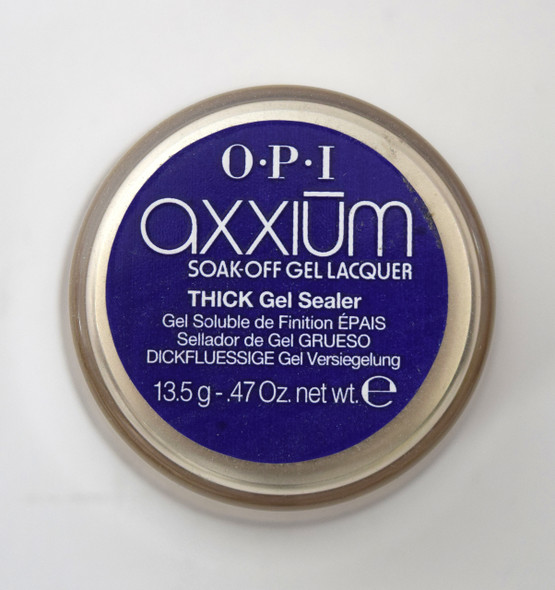 Axxium Soak-Off Gel - Thick Gel Sealer