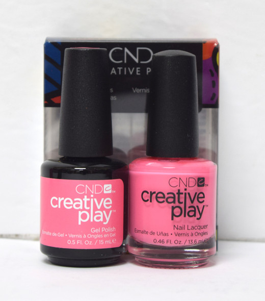 CND Creative Play Gel Set - #404 - Oh! Flamingo