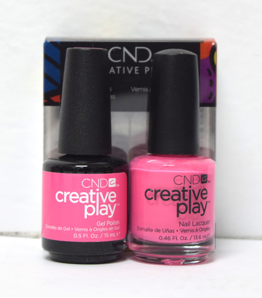 CND Creative Play Gel Set - #407 - Sexy + I Know It