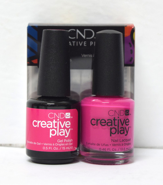 CND Creative Play Gel Set - #409 - Berry Shocking