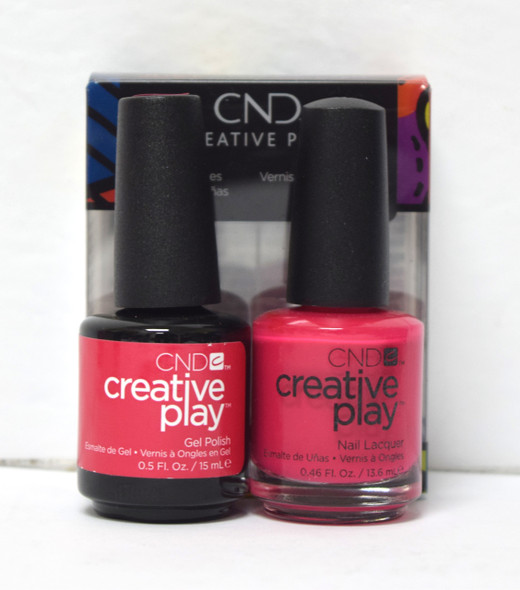 CND Creative Play Gel Set - #411 - Well Red