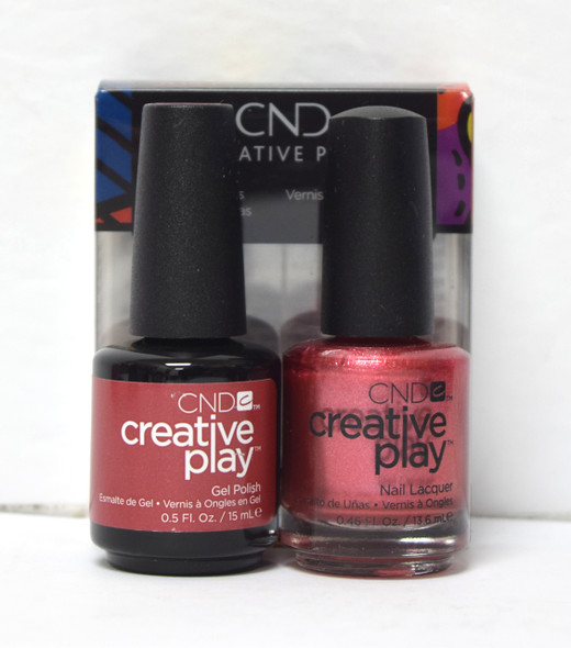 CND Creative Play Gel Set - #417 - Bronzestellation