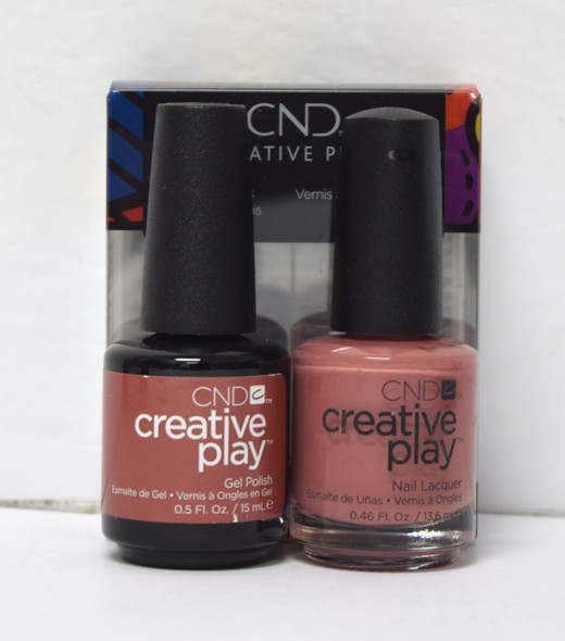 CND Creative Play Gel Set - #418 - Nuttin to Wear