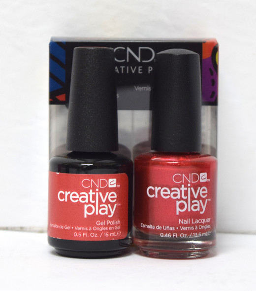 CND Creative Play Gel Set - #419 - Persimmon-Ality