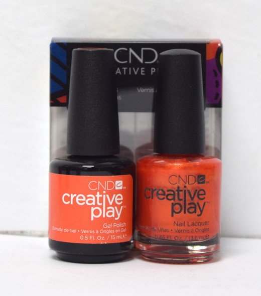 CND Creative Play Gel Set - #421 - Orange You Curious