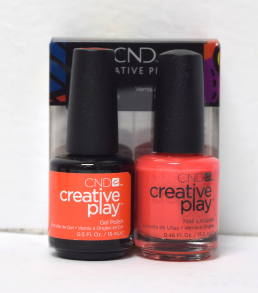 CND Creative Play Gel Set - #422 - Mango About Town