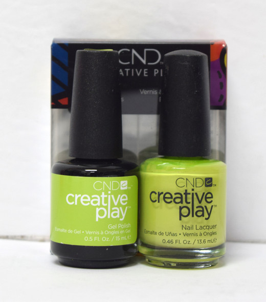 CND Creative Play Gel Set - #427 - Toe the Lime