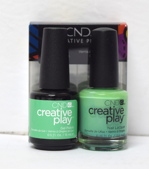 CND Creative Play Gel Set - #428 - You've Got Kale