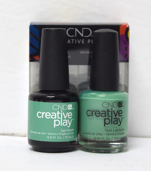 CND Creative Play Gel Set - #429 - My Mo-Mint