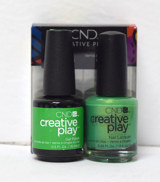 CND Creative Play Gel Set - #430 - Love It Or Leaf It