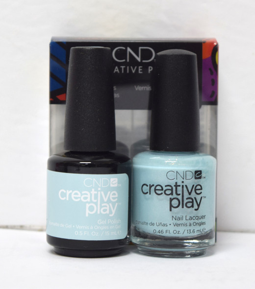 CND Creative Play Gel Set - #436 - Isle Never Let You Go