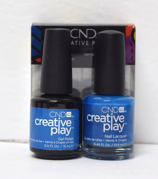 CND Creative Play Gel Set - #437 - Skinny Jeans