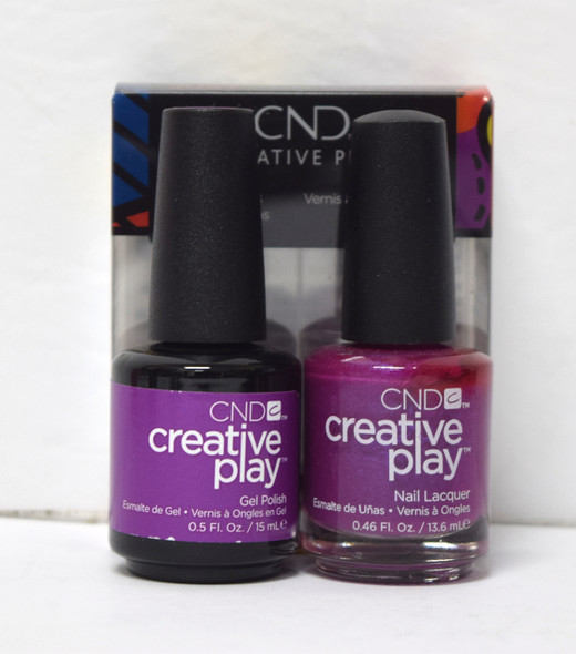 CND Creative Play Gel Set - #442 - The Fuchsia is Ours