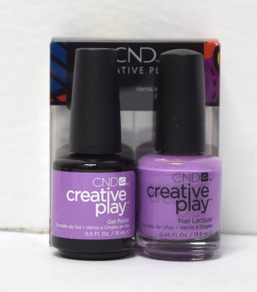 CND Creative Play Gel Set - #443 - A Lilac-Y Story
