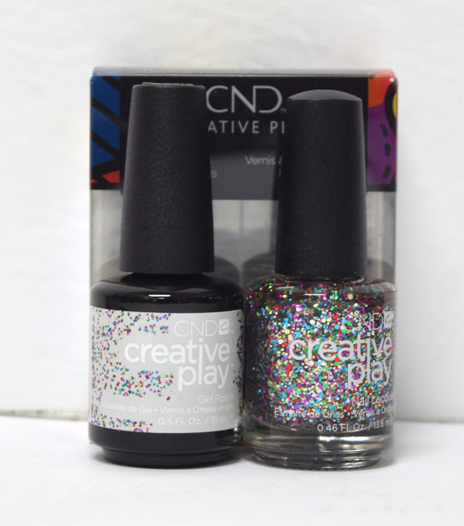 CND Creative Play Gel Set - #449 - Glittabulous
