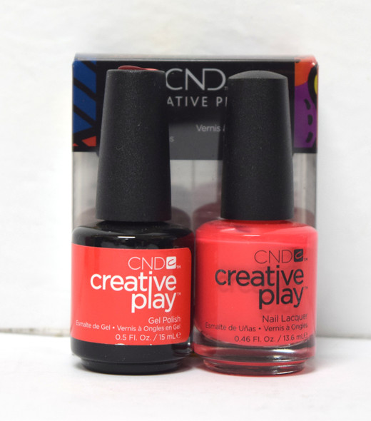 CND Creative Play Gel Set - #453 - Hottie Tomattie