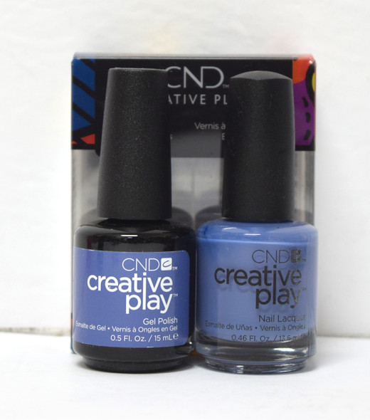 CND Creative Play Gel Set - #454 - Steel the Show