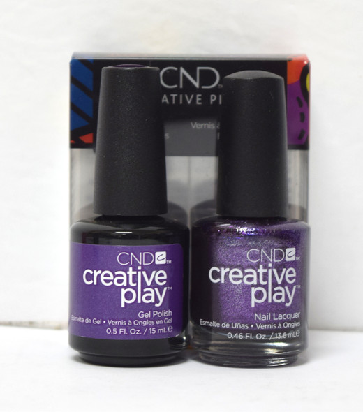 CND Creative Play Gel Set - #455 - Miss Purplelarity